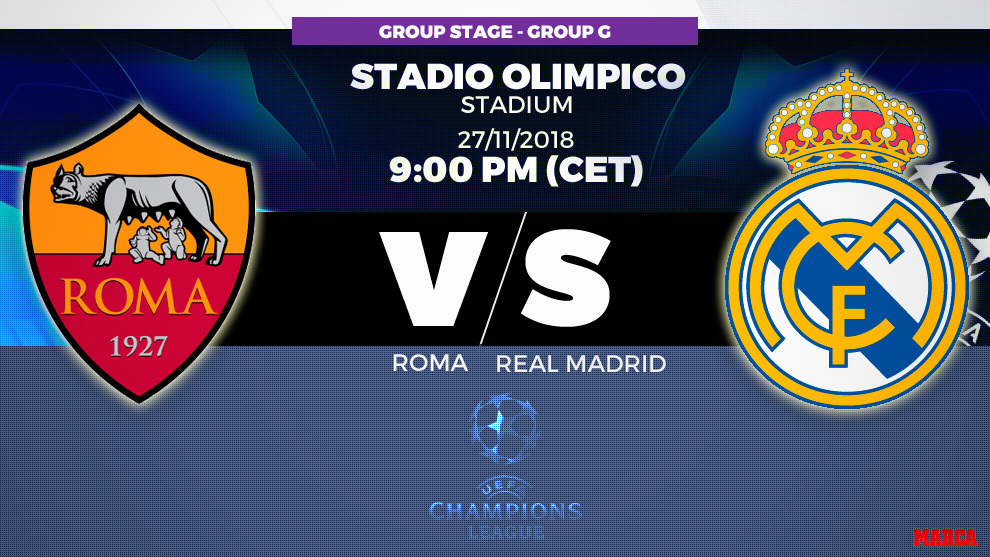 roma-vs-real-madrid:-es-hora-de-mostrar-el-rostro-europeo